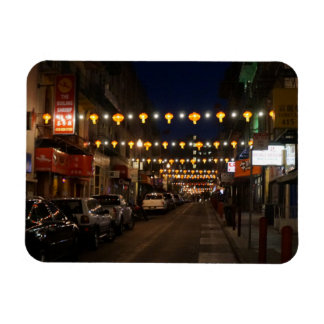 San Francisco Chinatown Lanterns Magnet