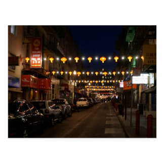 San Francisco Chinatown Lanterns Postcard
