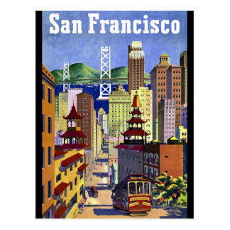San Francisco Chinatown Postcard