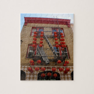 San Francisco Chinatown Temple Jigsaw Puzzle