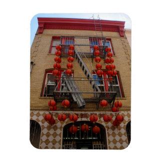San Francisco Chinatown Temple Magnet