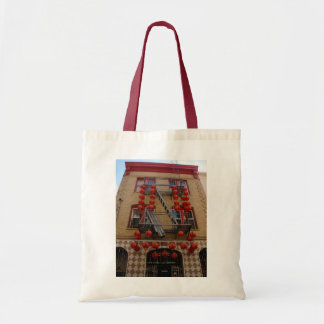 San Francisco Chinatown Temple Tote Bag
