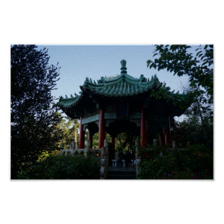 San Francisco Chinese Pavilion #2 Poster