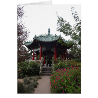 San Francisco Chinese Pavilion Card