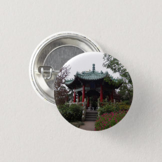 San Francisco Chinese Pavilion Pinback Button