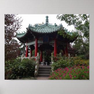 San Francisco Chinese Pavilion Poster