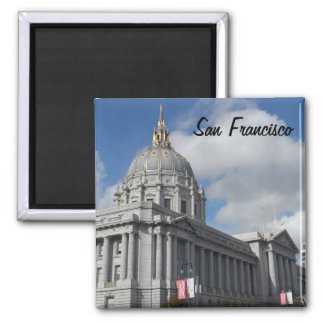 San Francisco City Hall Square Magnet