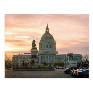 San Francisco City Hall Postcard
