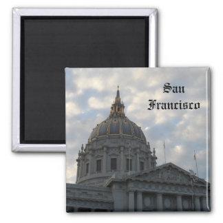San Francisco City Hall Square Magnet