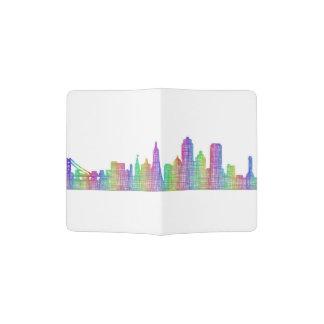 San Francisco city skyline Passport Holder