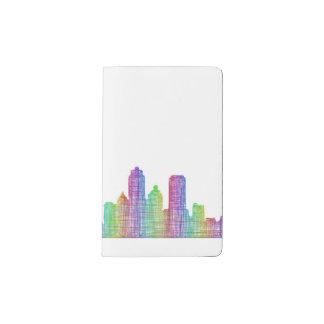 San Francisco city skyline Pocket Moleskine Notebook