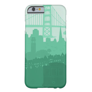 San Francisco City Skyline Scenic Phone Case