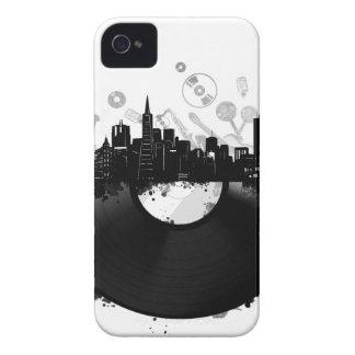 san francisco city skyline vinyl white Case-Mate iPhone 4 cases