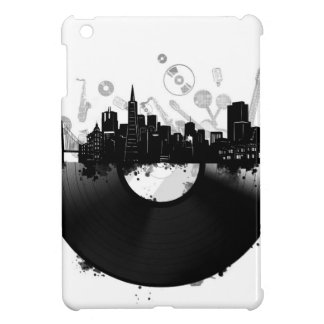 san francisco city skyline vinyl white iPad mini case