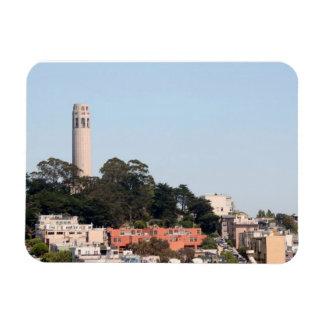 San Francisco Coit Tower Rectangular Photo Magnet