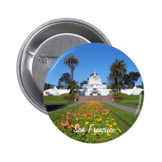 San Francisco Conservatory of Flowers 2 Inch Round Button