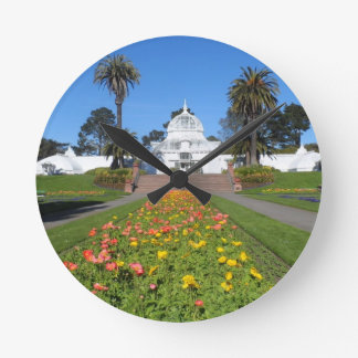 San Francisco Conservatory of Flowers Wall Clocks