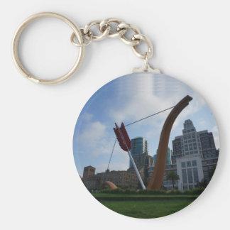 San Francisco Cupid's Span #5 Keychain
