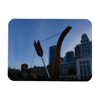 San Francisco Cupid's Span Photo Magnet