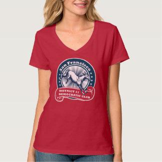 San Francisco D11 Democratic Club Ladies T-Shirt