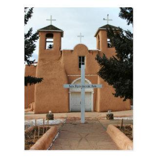San Francisco de Asis Church Postcard