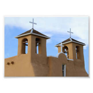 San Francisco de Asis Mission Bell Towers, Taos Photo Print