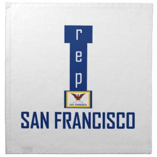 San Francisco design Napkin