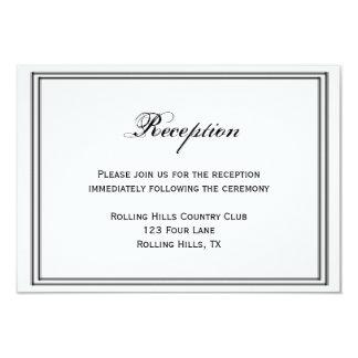 San Francisco Destination Wedding Reception Card