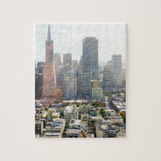 San Francisco Downtown California Jigsaw Puzzle