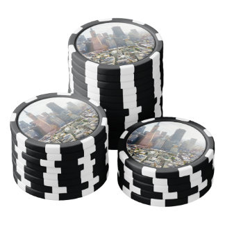 San Francisco Downtown California Poker Chips
