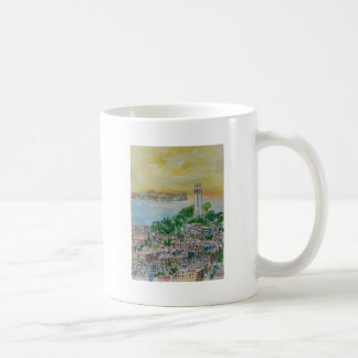 San Francisco Dusk Sunset Over Coit Tower Coffee Mug