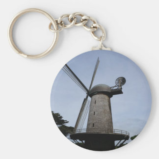 San Francisco Dutch Windmill Keychain
