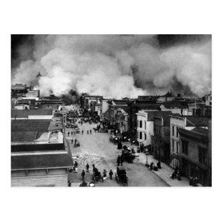 San Francisco Earthquake Postcard
