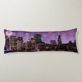 San Francisco Eve Body Pillow