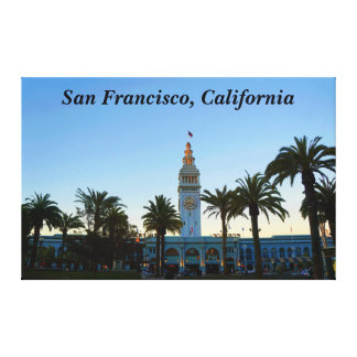 San Francisco Ferry Building #11 Canvas