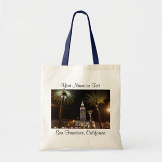 San Francisco Ferry Building #15-2 Tote Bag
