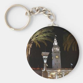 San Francisco Ferry Building #16-2 Keychain