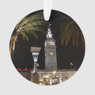 San Francisco Ferry Building #16-2 Ornament