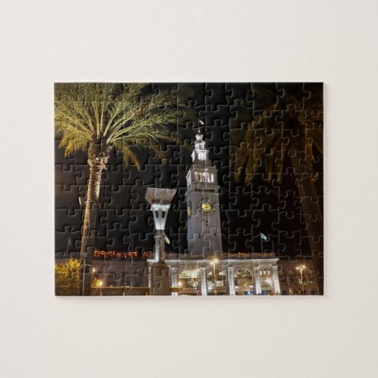 San Francisco Ferry Building #16 Jigsaw Puzzle