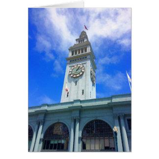 San Francisco Ferry Building #18 Card