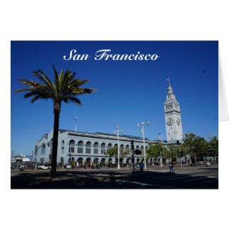 San Francisco Ferry Building #2 Card