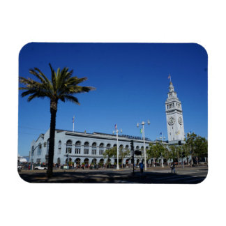 San Francisco Ferry Building #2 Photo Magnet