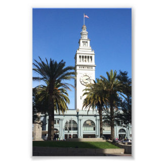San Francisco Ferry Building #3 Photo Print