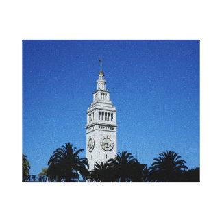 San Francisco Ferry Building #4 Canvas