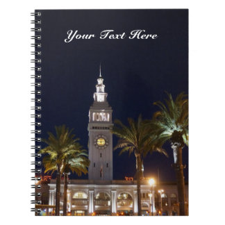 San Francisco Ferry Building #6 Notebook
