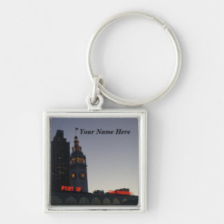 San Francisco Ferry Building #7 Premium Keychain
