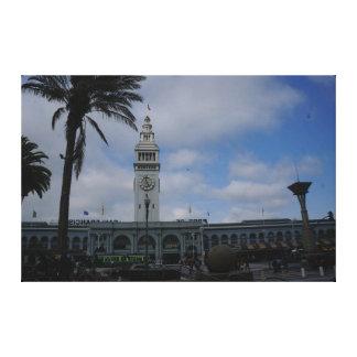 San Francisco Ferry Building #9 Canvas
