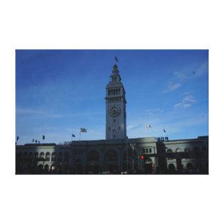 San Francisco Ferry Building Canvas