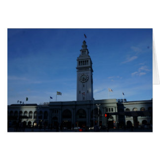 San Francisco Ferry Building Card