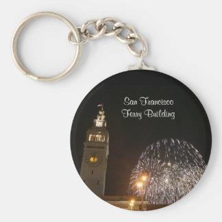 San Francisco Ferry Building Firework#3-3 Keychain
